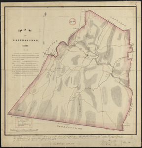 Plan of Southbridge made by Barlow Freeman, dated October, 1831