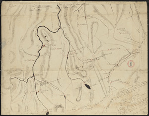 Plan of Hawley made by John Tobey, dated March, 1839