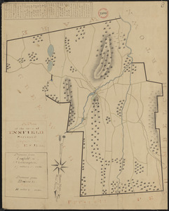 Plan of Enfield made by E. S. Darling, dated August, 1830
