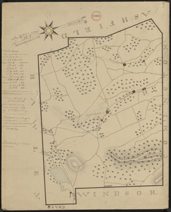 Plan of Plainfield made by E. S. Darling, dated November, 1830