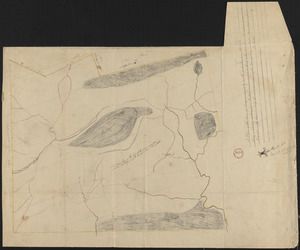 Plan of Savoy made by Levi Leonard, dated June 1831