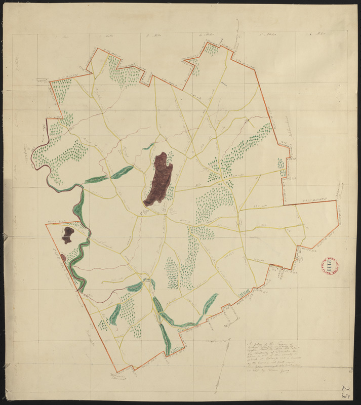 Plan of Gardner made by William Young, dated 1831
