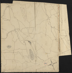 Plan of Ashfield made by Levi Leonard, dated December 25, 1830