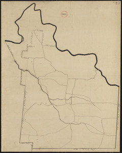 Plan of Rowe made by E. P. Farnsworth, dated June 1830