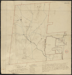 Plan of Williamsburg, surveyor's name not given, dated June 1831