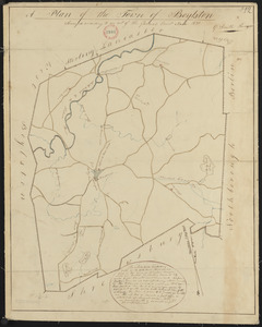 Plan of Boylston made by G. Smith dated 1830