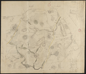 Plan of Ashburnham, surveyor's name not given, dated October, 1830