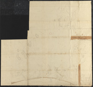 Plan of Sandwich made by Jesse Boyden, dated 1831