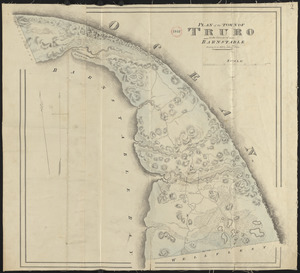 Plan of Truro made by John G. Hales, dated 1831