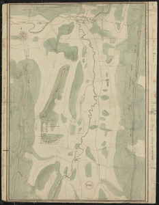Plan of Adams made by Thomas A. Brayton, dated June, 1831
