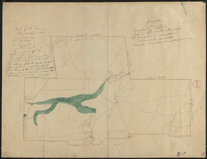 Plan of Hinsdale, surveyor's name not given, dated 1830