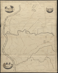 Plan of Springfield, surveyor's name not given, dated 1830