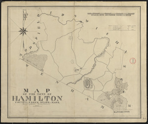 Plan of Hamilton made by A. Brown, dated 1831