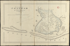 Plan of Chatham, surveyor's name not given, dated 1831