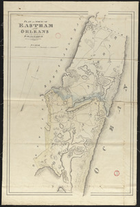 Plan of Eastham and Orleans, made by John G. Hales, dated 1831
