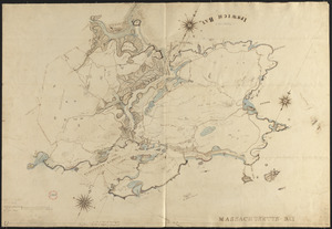 Plan of Gloucester made by John Mason, dated 1830