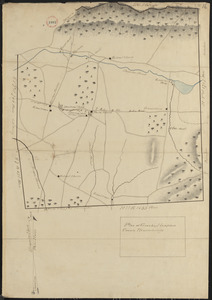 Plan of Granby, surveyor's name not given, dated 1830