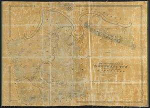 Plan of Northampton made by John G. Hales, dated 1831