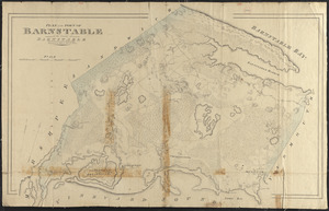 Plan of Barnstable made by John G. Hales, dated 1831