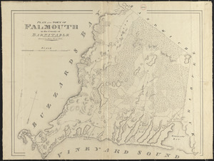 Plan of Falmouth made by John G. Hales, dated 1831