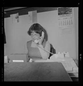 Anne B. Chace, Coordinator of Outreach and Home Services, United Cerebral Palsy Committee of Cape Cod, October 1977
