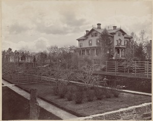 Houses: Old Judge Thomas place, afterwards owned by H. Reuter, Perkins St., Jamaica Plain