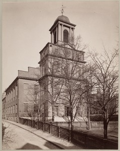 Old West Church, built 1806, Asher Benjamin, arch.