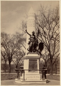 Crispus Attucks statue. Boston Common