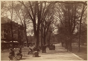 Tremont Street mall, Boston Common