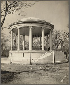Boston Common. Parkman Bandstand