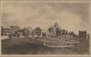 State House from Common. 1812(?)
