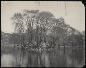 """Bird island,"" Public Garden, Boston, Massachusetts"