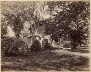 The Francis Parkman House, Jamaica Pond, 1894
