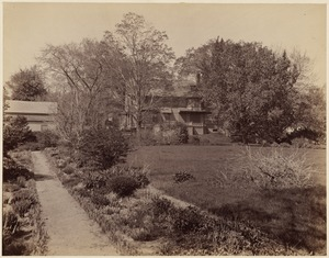 The Francis Parkman House and garden, Jamaica Pond, 1894