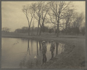Boston, Massachusetts. Franklin Park, 1900. Sargent's Pond, now filled up