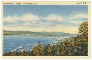 Batchelorville Bridge, Sacandaga Lake