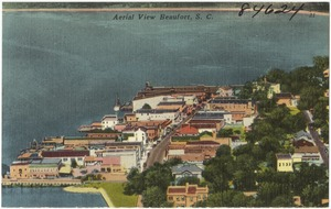 Aerial view of Beaufort, S. C.