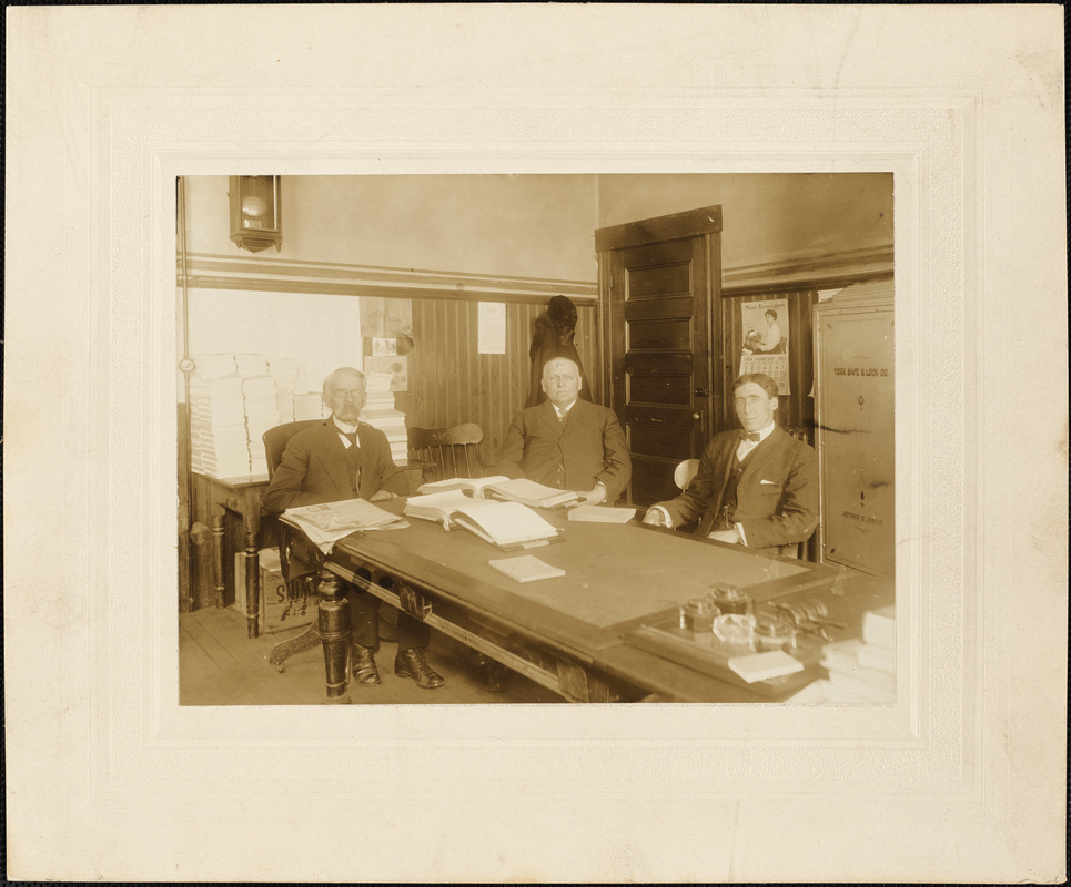 1915 Board of Assessors, Town of Leominster
