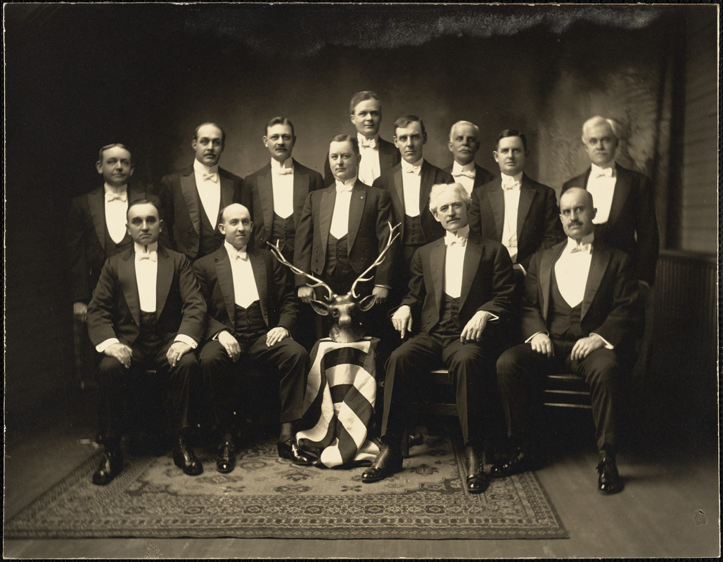 First Officers, Leominster Lodge, #1237, B.P.O. Elks