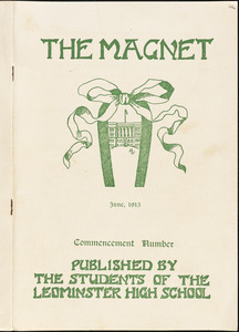 The Magnet, Leominster High School, commencement number, June 1915
