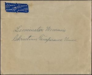 Women's Christian Temperance Union (W. C. T. U.) of Leominster