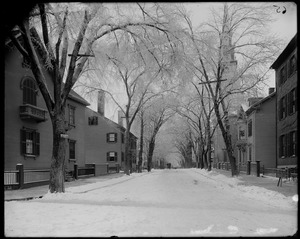 Salem, Chestnut Street from Summer Street, views, laid out 1776
