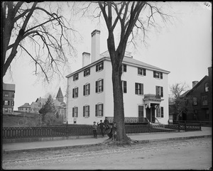 Beverly, 104 115 Cabot Street, George Cabot house, 1752