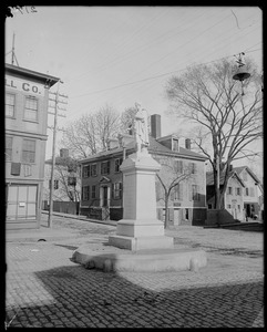 Monuments, Reverend Theobald (Father) Mathew, Salem, Central Street 1887