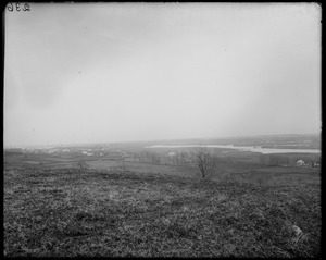 Danvers, view of Peabody from summit of Folly Hill
