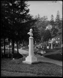 Monuments, Salem, Grove Cemetery, Jesse Smith Monument