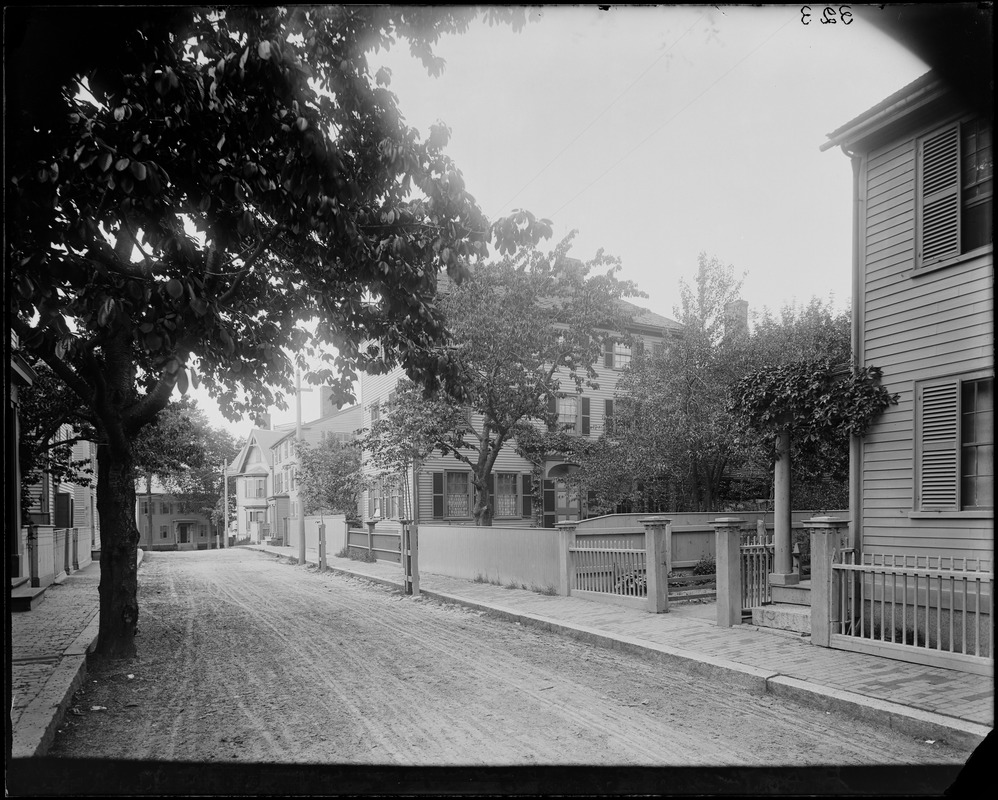 "Salem, 14 Mall Street, Hawthorne house where ""Scarlet Letter"" was written"