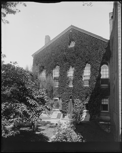 Salem, 161 Essex Street, Peabody Museum, East India Hall, rear view