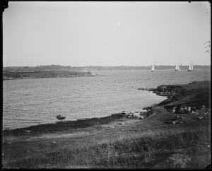 Salem, Salem Willows, views, Beverly shore from Willows