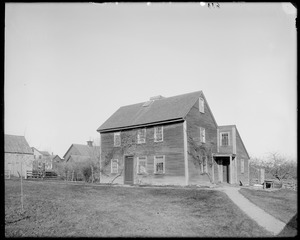 Danvers, Centre Street, birthplace of Israel Hutchinson